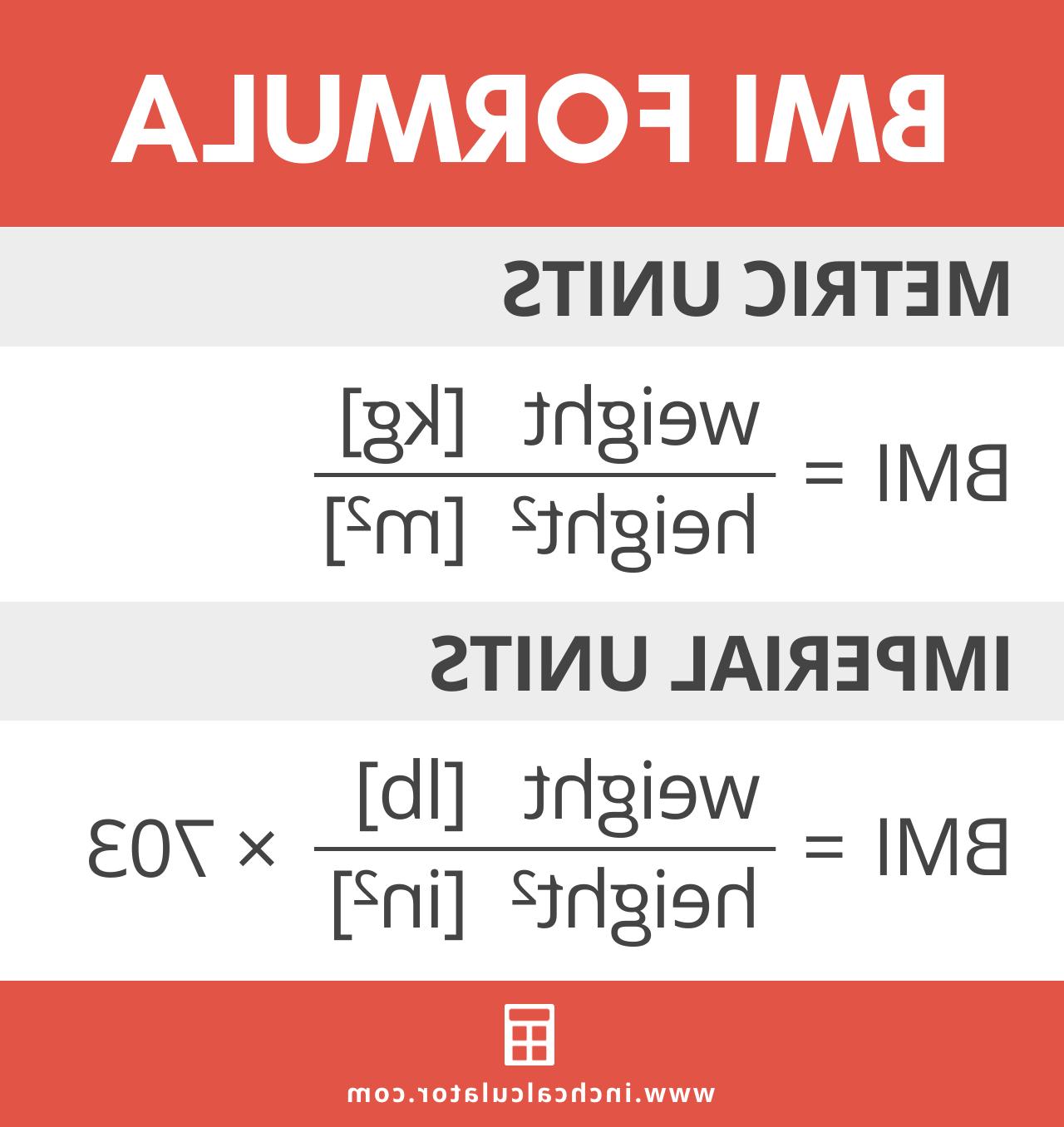 Comment calculer l'imc