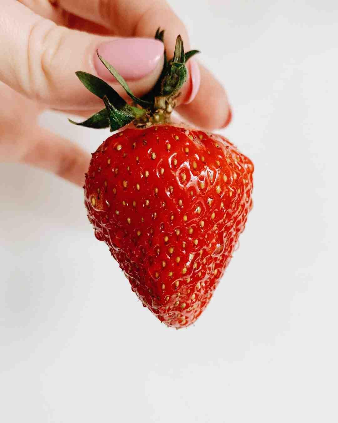 Comment préparer du jus de fraise