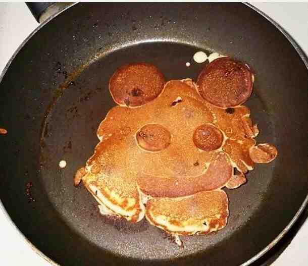 Comment faire des pancakes en forme de Mickey