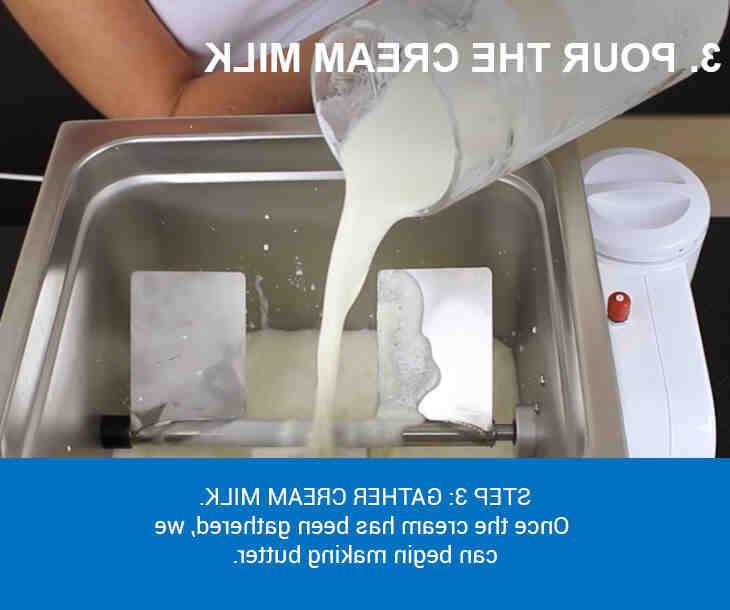 Comment faire du beurre avec du lait cru