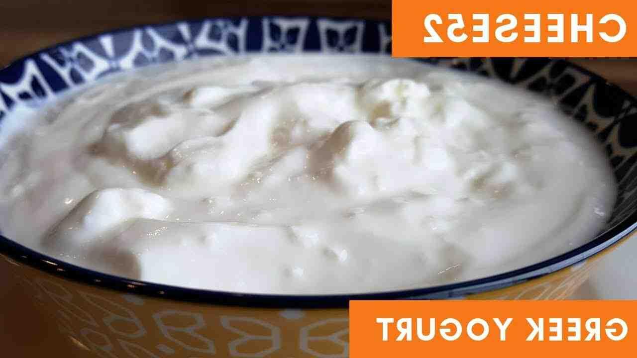 Comment faire du yaourt grec