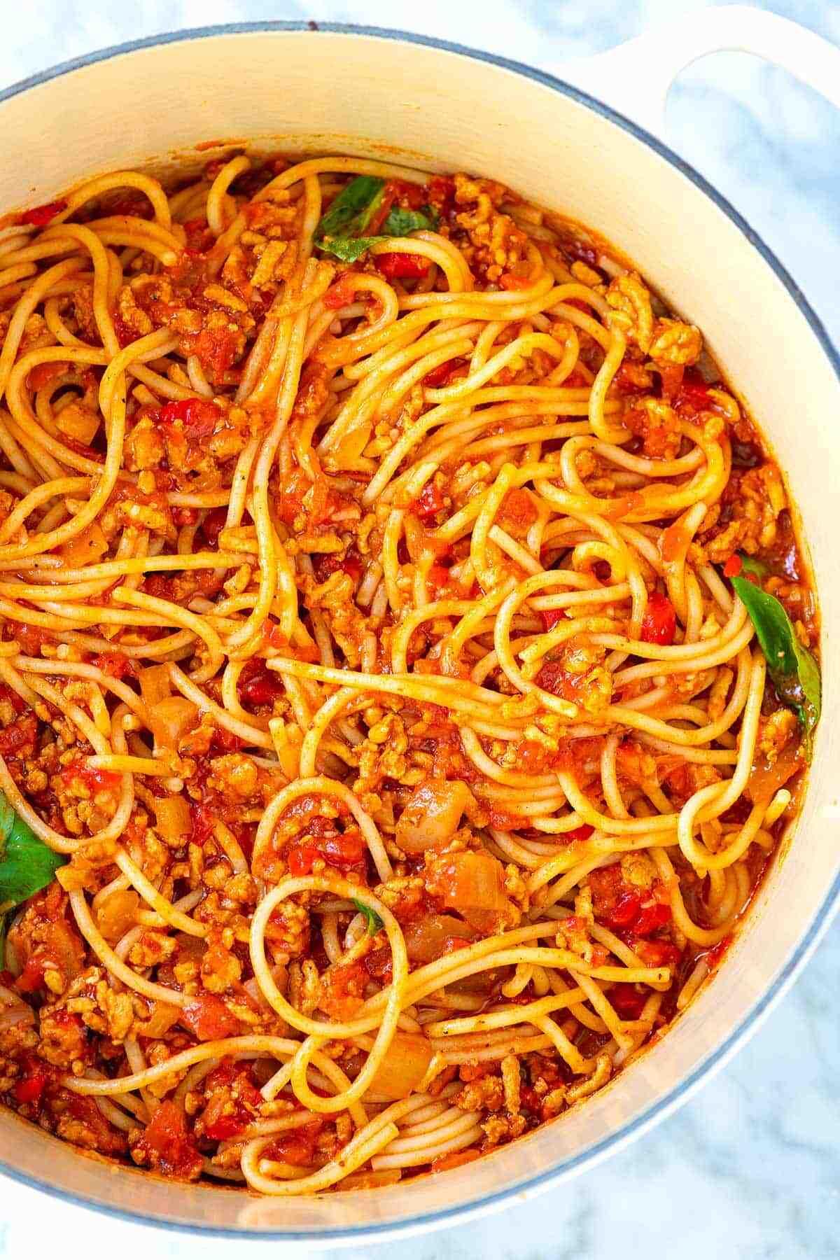 Comment préparer rapidement un plat de spaghettis
